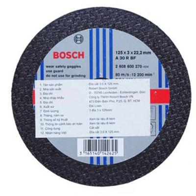 Đá cắt Bosch 2608600272 (3x180mm)