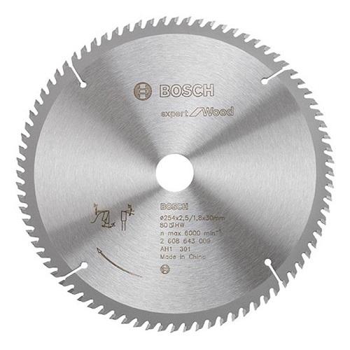 Lưỡi cưa gỗ Bosch 2608643002 254x25.4mm T60