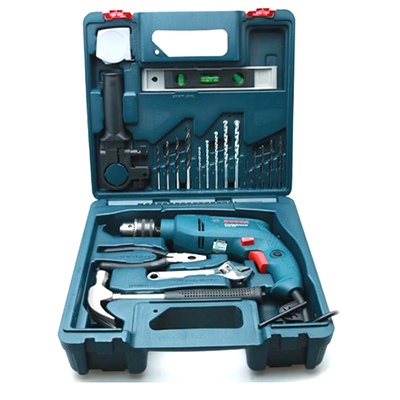 Bộ máy khoan 19 món Bosch GSB 550 MP SET