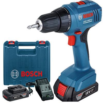 Máy vặn khoan vít dùng pin Bosch GSR 1800-LI 18V