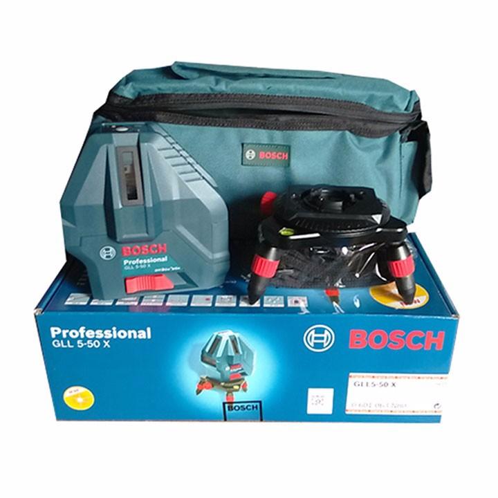 Máy cân mực laser 5 tia Bosch GLL 5-50X