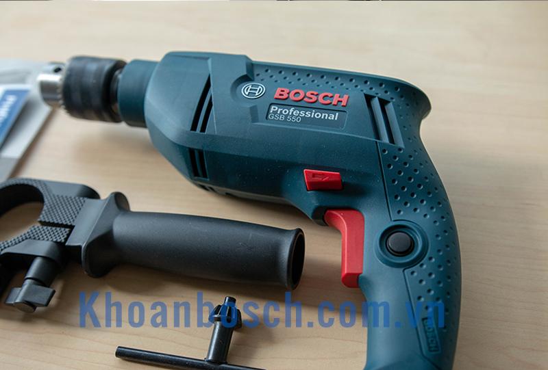 Bosch GSB 550 set 550w 19