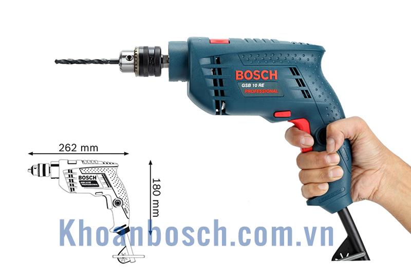 Khoan Bosch GSB 10RE