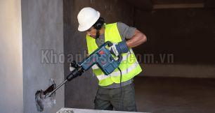 Đục phá bê tông đơn giản hơn với những mẫu máy Bosch này